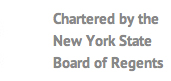 Chartered by the New York State Board of Regents